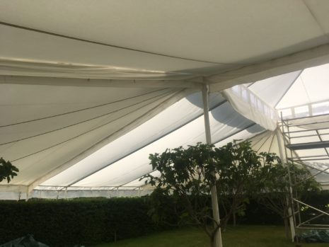 Indian wedding tent, Cornish wedding!